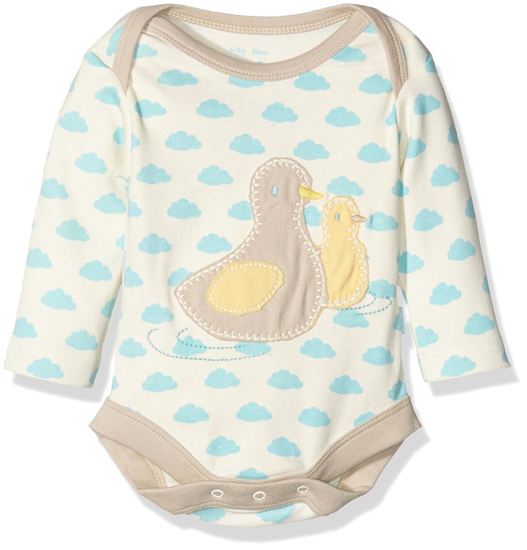 Kite Baby Duckling Bodysuit Romper Off-White (Cream) 6-12 Months (Size:6-12M) BU002