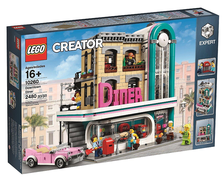 レゴ (LEGO) クリエイター エキスパート ダウンタウンのダイナー 10260