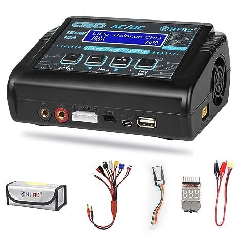 Amazon.com: LiPo - Cargador de balance de batería para NiCd ...