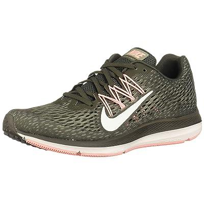 Nike Women's Zoom Winflo 5 Newsprint/Summit White Ankle-High Mesh Running Shoe - 7M   Road Running