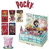 【Amazon.co.jp限定】 江崎グリコ ポッキー シェアハピBOX (白雪姫のピクニック) プチ贅沢なお茶会・パーティを演出 1箱