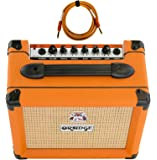 Orange Crush 12 Amp 12w Small Guitar Combo Amplifier Free Cable Bundle