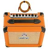 Orange Crush 12 Amp 12w Small Guitar Combo Amplifier Free Cable Bundle