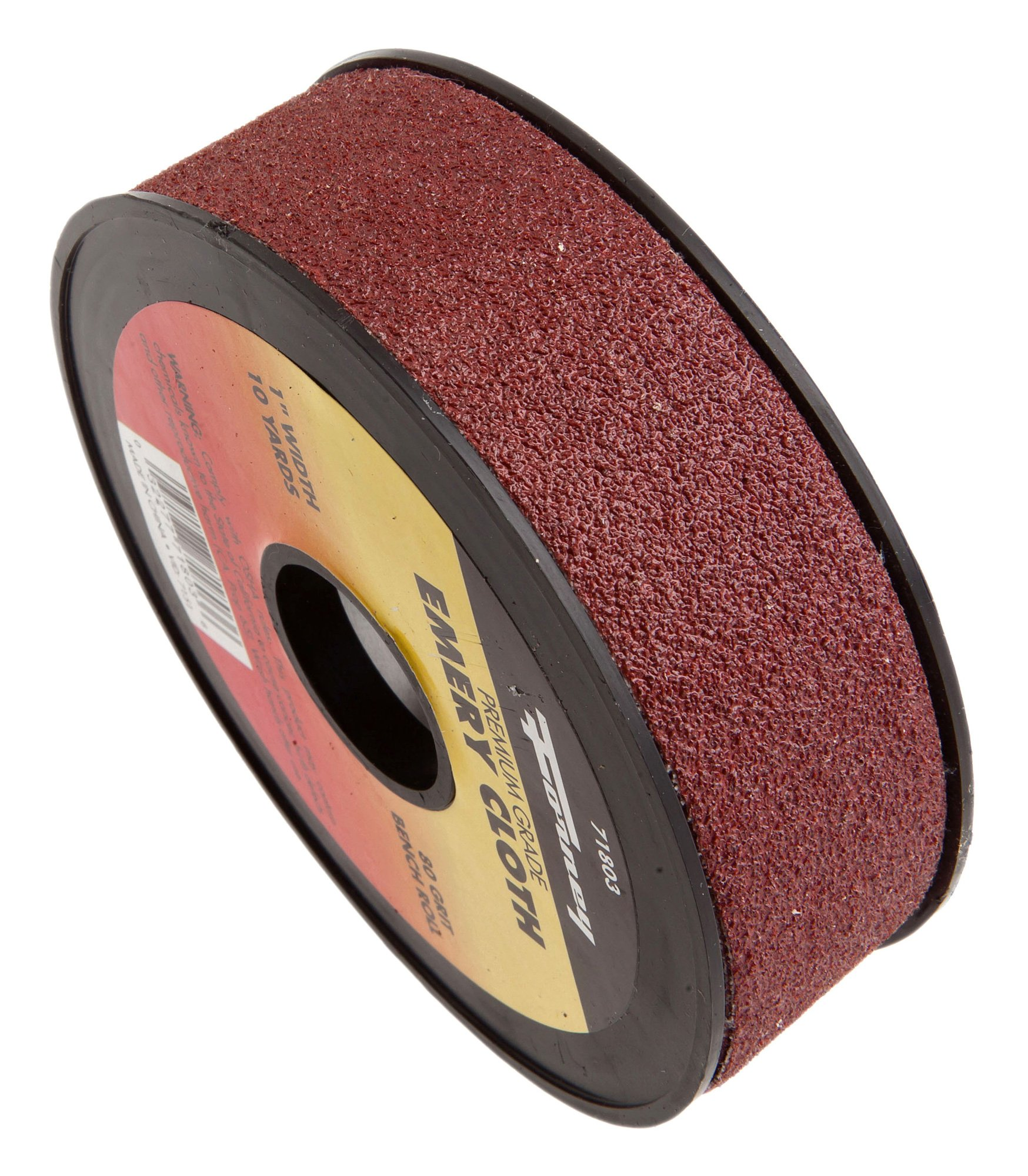 Forney 71803 Emery Cloth, 80-Grit, 1-Inch-by-10-Yard Bench Roll by Forney (Image #1)