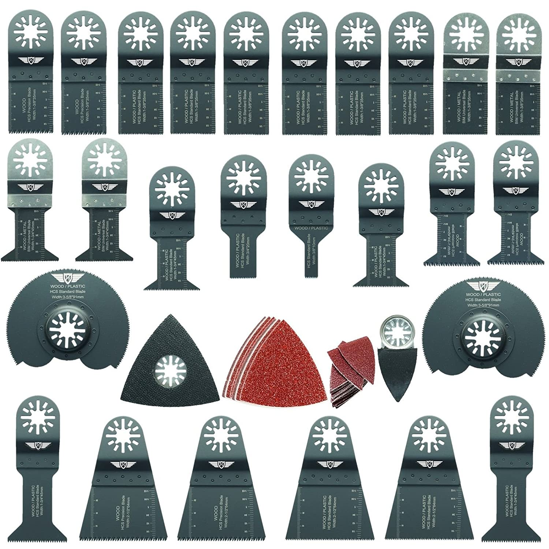 20 x 35mm Fine Tooth Blades for Fein Multimaster Bosch Makita Ryobi Multitool