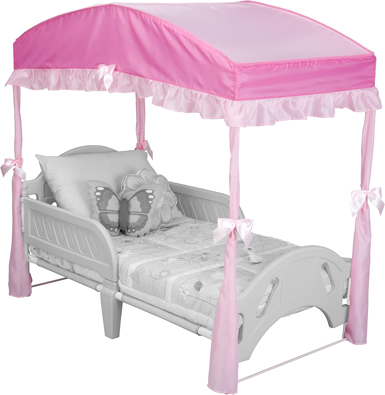 - Delta Children Girls Canopy For Toddler Bed, Pink: Amazon.ca: Baby