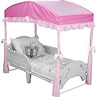 Delta Children Girls Canopy for Toddler Bed, Pink