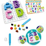 Popsugar 4 in 1 Mini Alphabets Toy Brick Puzzle Series for Kids | Educational, Creativity, Learn Alphabets