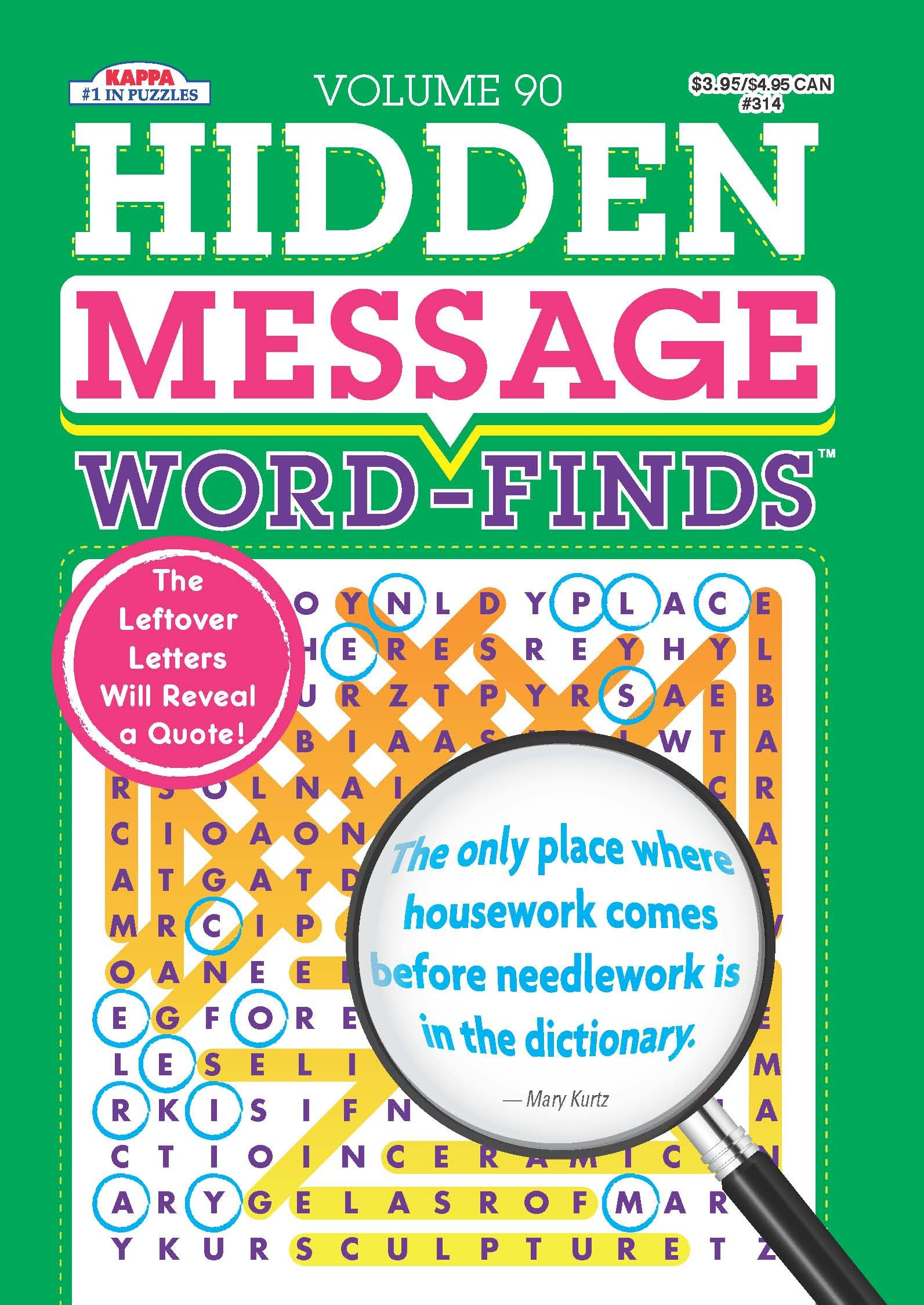 Hidden Message Word Finds Puzzle Book Word product image