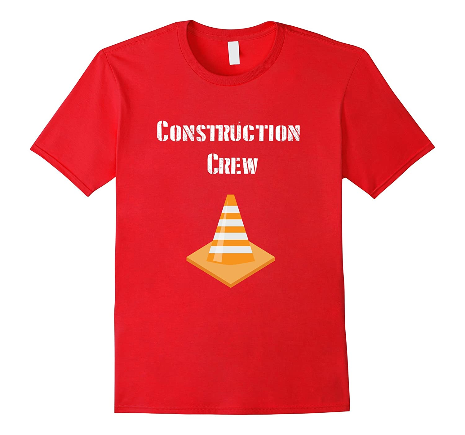 Construction Crew Shirt  Birthday Party Theme Tee for Boys-TD