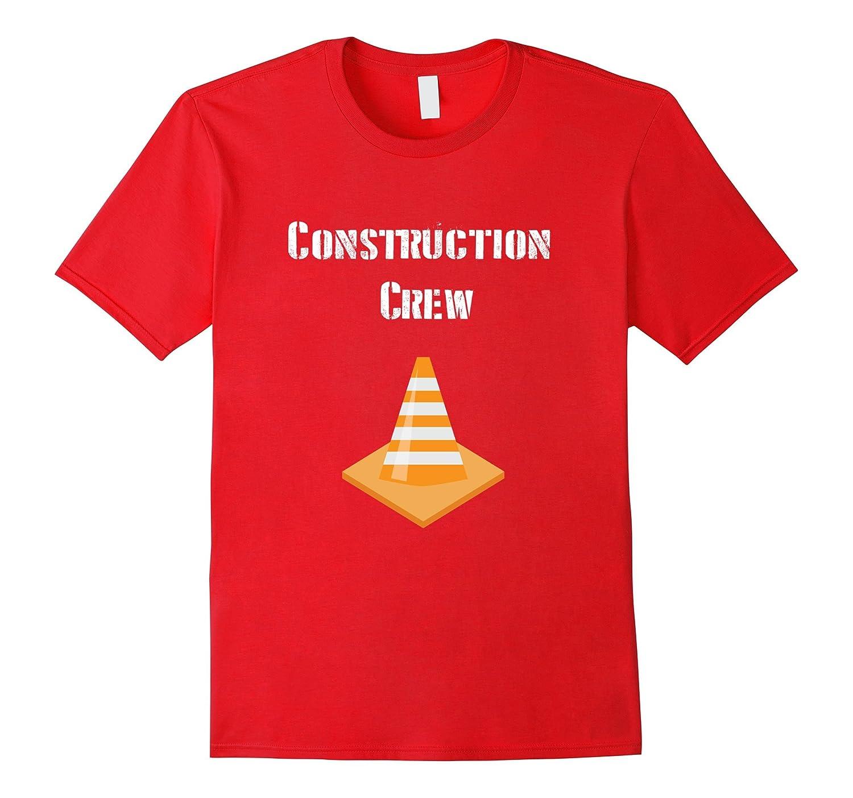 Construction Crew Shirt  Birthday Party Theme Tee for Boys-TD