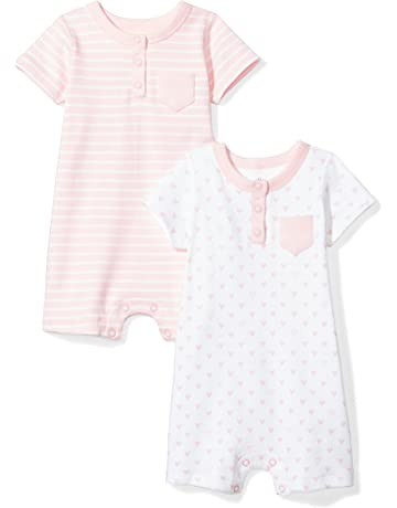 813e884f7 Moon and Back Baby Set of 2 Organic Rompers