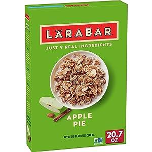 Larabar Breakfast Cereal, Apple Pie, 20.7 oz