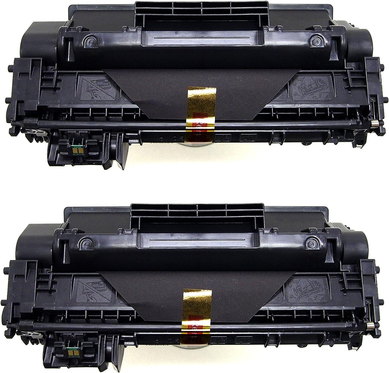 HPLaserJet Pro 400 M401a MFP Compatible with HP P2035 imageCLASS MF5950dw TM P2055 MF6160dw CF280A 80A CE505A 05A Canon 119 1 I Universal Black Toner Cartridge for HP Canon 2-PACK PrimeToner