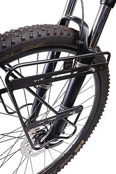 ZEFAL Vorderradträger Raider F Portabulto, Unisex, Aluminio/Negro: Amazon.es: Deportes y aire libre