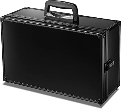 Travel Bag Hard Case for Entire Cards Against Humanity Set Fits up to 1450 Cards