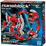 ナノブロックプラス 消防車 PBH-016