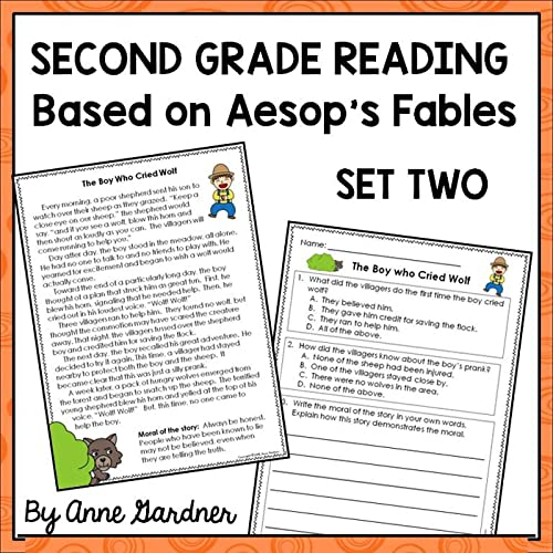 Second Grade Reading Comprehension Passages With Questions