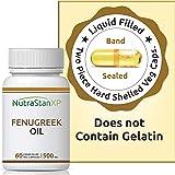 NutrastanXP Fenugreek Seed Oil Supplement 500 Mg - 60 Liquid Filled Vegetarian Capsules