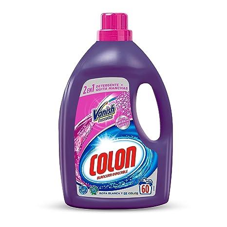Colon Detergente Vanish Powergel 60 dosis