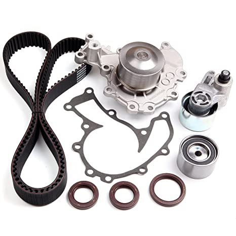 Amazon.com: SCITOO Timing Belt Water Pump Kit Fits 98-03 ... on isuzu timing mark cover, isuzu 3.2 timing, isuzu serpentine belt, isuzu cam timing, isuzu timing gears, isuzu rodeo timing marks, isuzu brake pads,