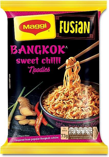 MAGGI Fusian Bangkok Sweet Chilli Noodles - 73g Pouch