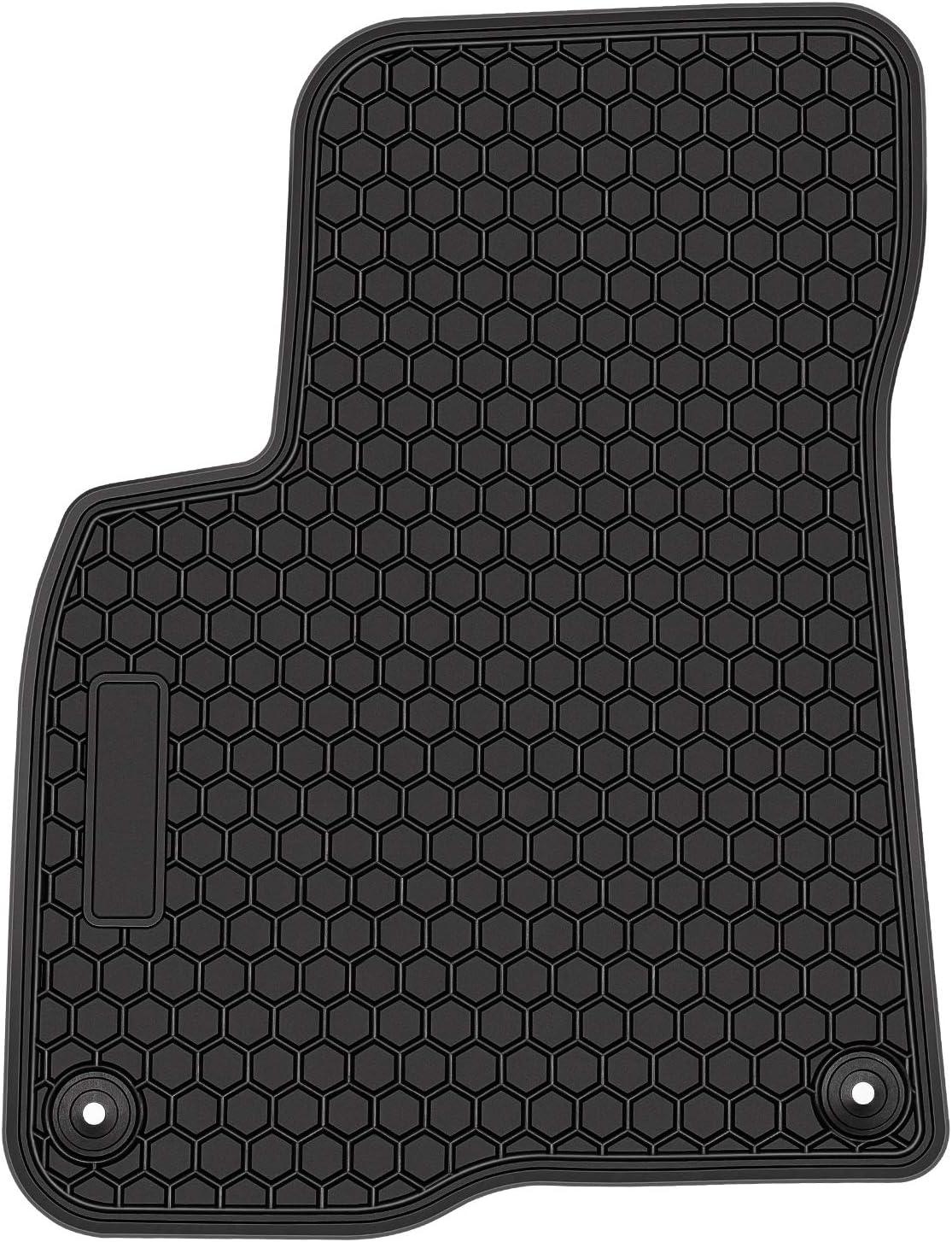 All Seasons Odorless E-cowlboy Floor Mat Liner for Honda CR-V 5th 2017~2019 Heavy Duty Rubber Front /& Rear Car Carpet Custom Fit Black