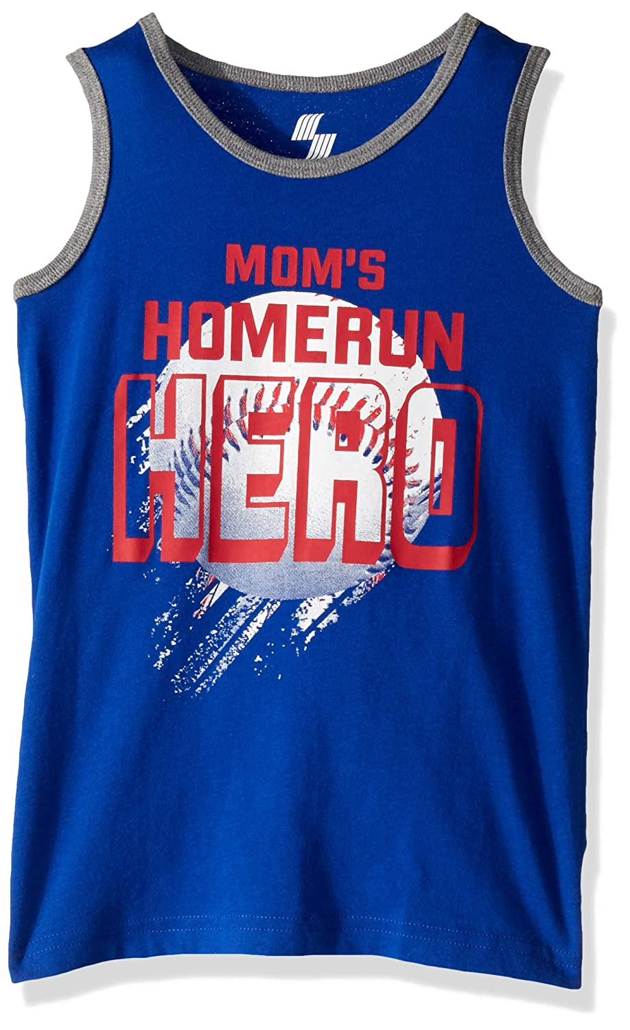 The Childrens Place Boys Big Sleeveless Graphic Tank Top