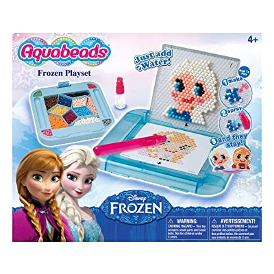 Aquabeads Disney Frozen Playset - Create Bead Art of their Favorite Frozen Characters - 900 Beads: Toys & Games