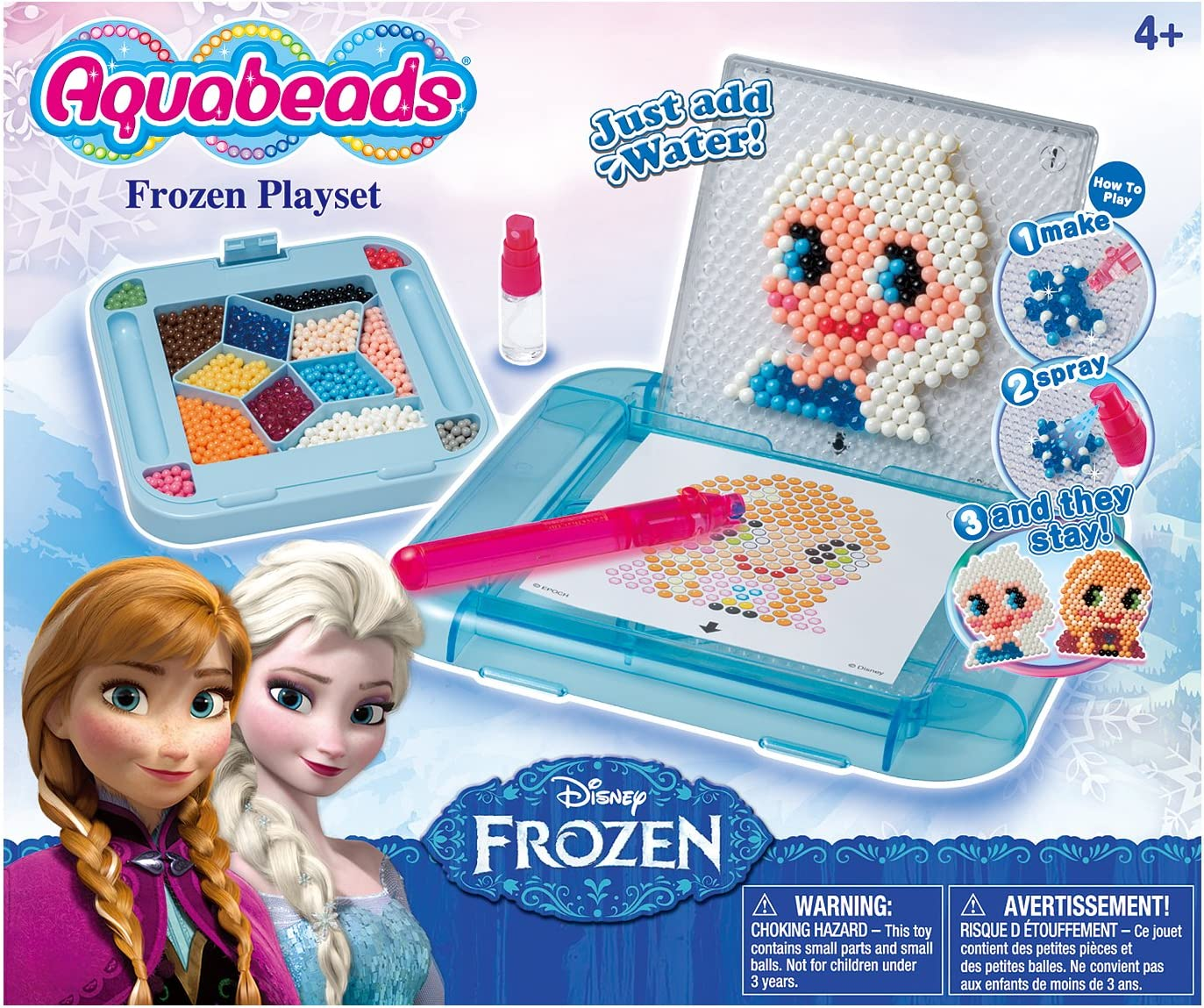 AQUA BEADS Aquabeads Disney Frozen Playset: Amazon.es: Juguetes y juegos