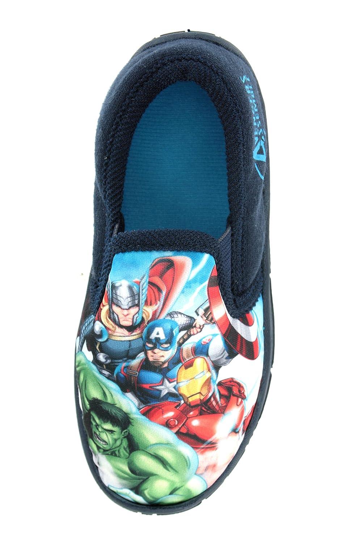 Boys Marvel Avengers Hulk Iron Man Captain America Slippers Shoes Toddler  Children's Size UK 10 - 3: Amazon.co.uk: Shoes & Bags