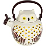 HOME-X Owl Whistling Tea Kettle, Cute Animal Teapot, Kitchen Accessories and Décor