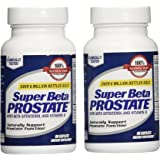 New Vitality Super Beta Prostate Supplement Supports Bladder & Urinary Health + E-BOOK! (Pack of 2)
