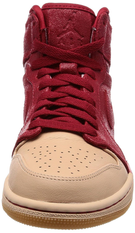 Jordan Nike Women s 1 Retro Hi Premium Basketball Shoe