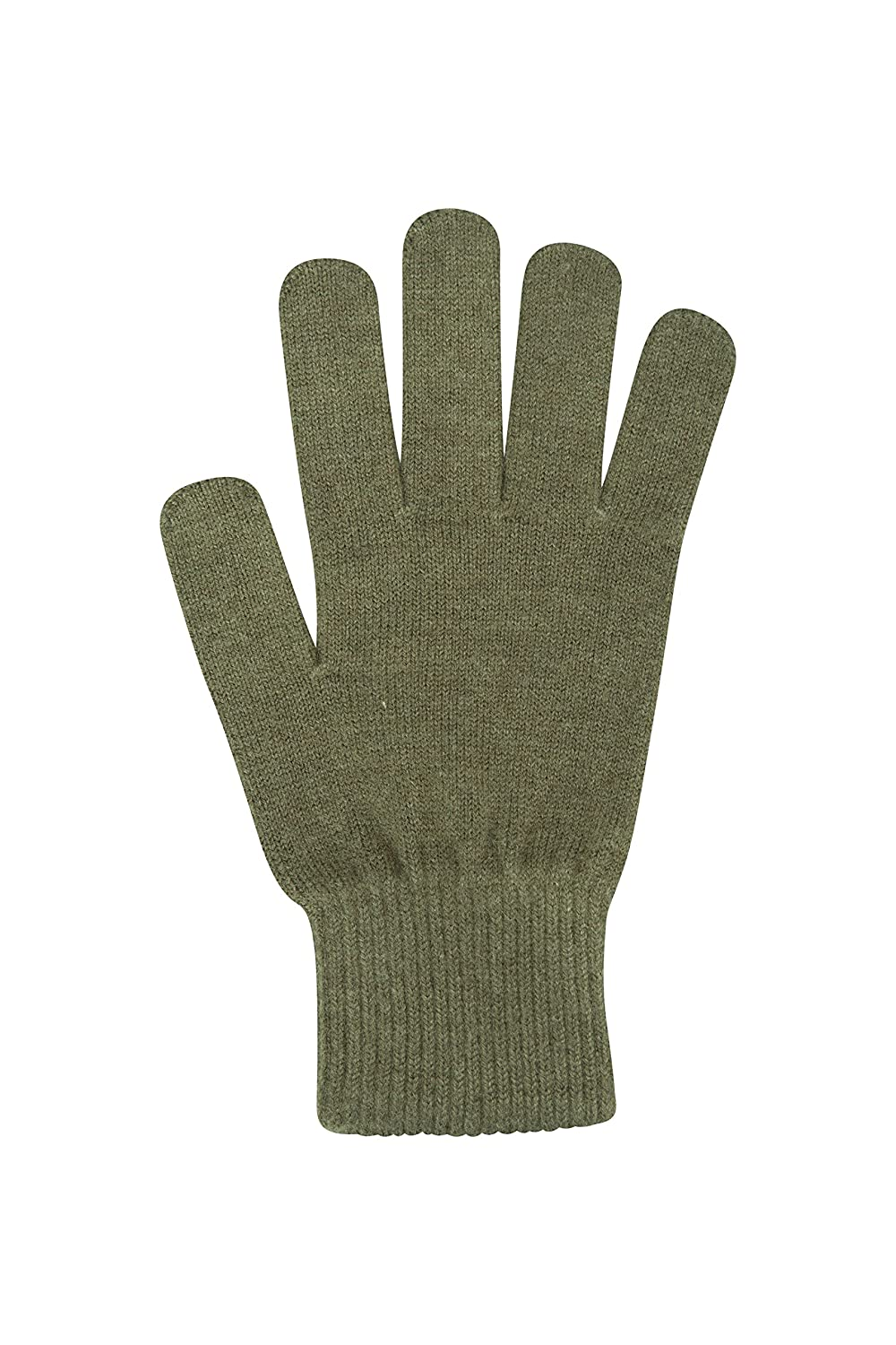 Mountain Warehouse Grace Women's Knitted Gloves - Warm & Cosy & Knitted Fabric, Soft Feel & Heat Retention Elasticated Cuffs Ideal Fit - Ideal Every Day Black 024750005001