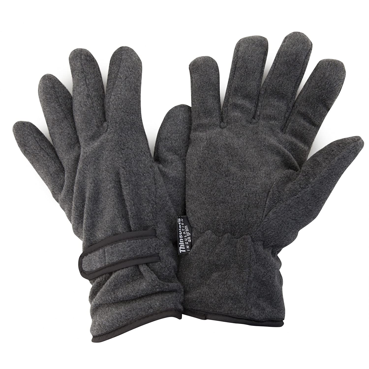 3M 40g FLOSO Mens Winter Thermal Fleece Gloves