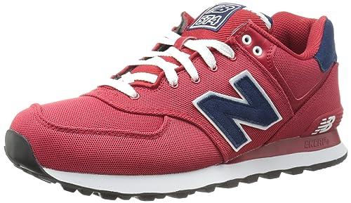 New Balance Wl574bfl, Zapatillas para Mujer, Rojo/Azul Marino, 37 EU
