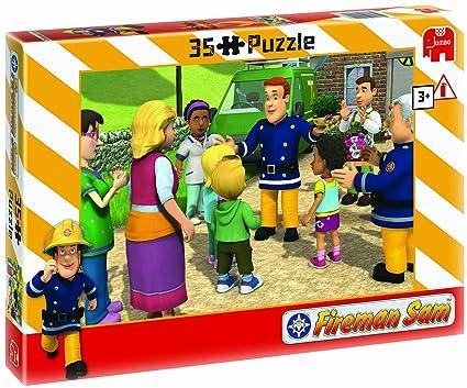 Amazon.com: Sam el bombero – Puzzle (35 piezas) (Surtido ...
