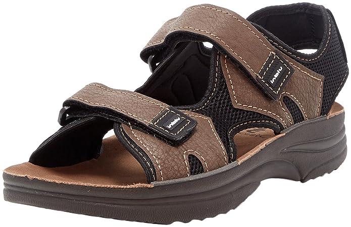 Mens Rudy Open Toe Sandals, Brown Inblu