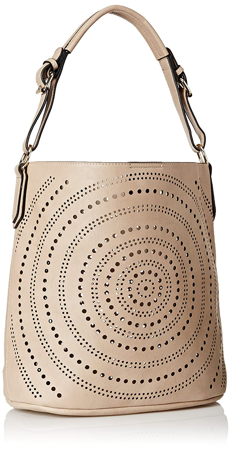 Amazon.com: Mg Collection Calista perforado Bolsa de hombro ...