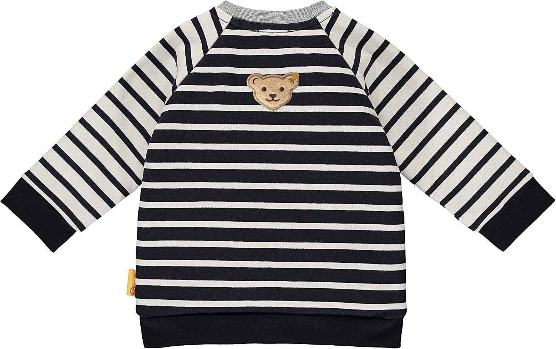 Steiff Baby-Jungen Mit S/ü/ßer teddyb/ärapplikation Sweatshirt