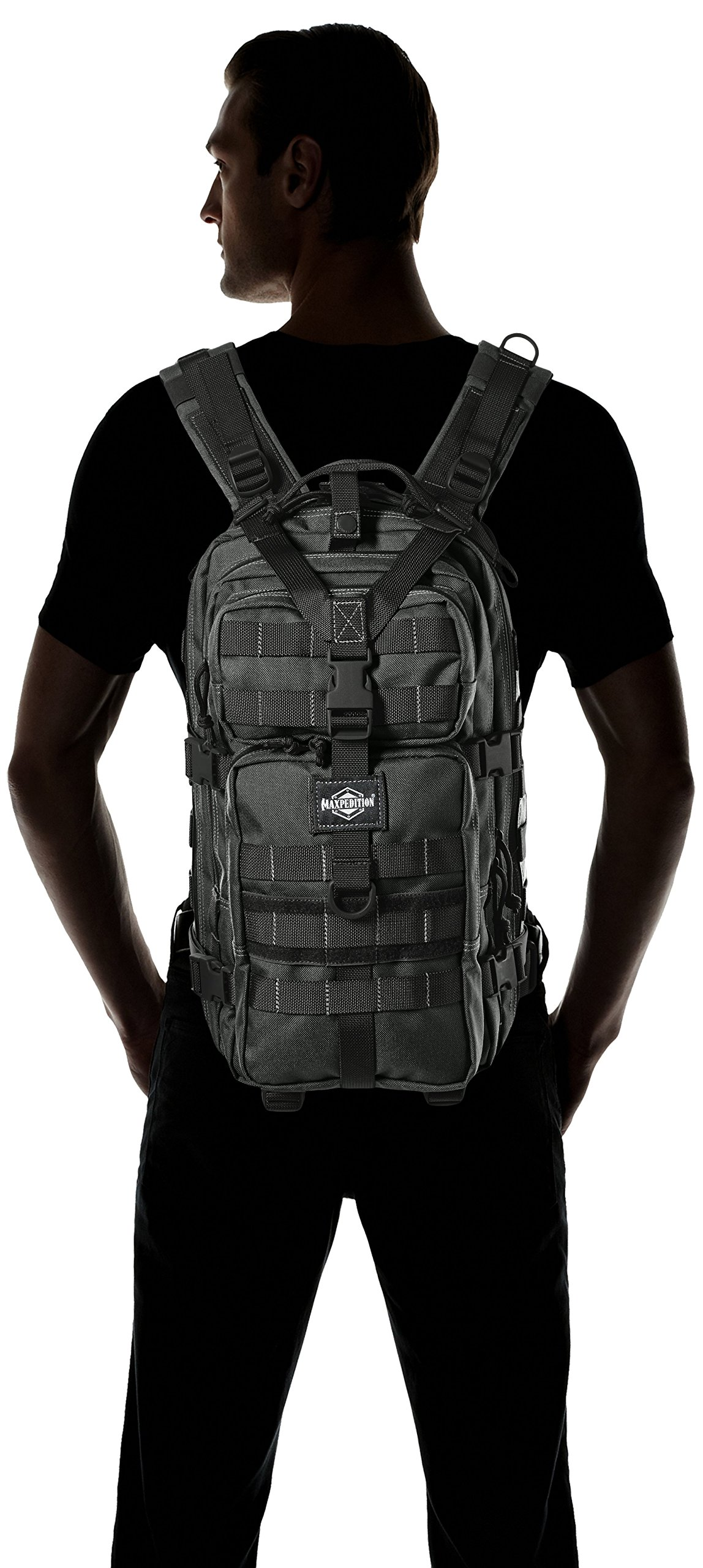 MX513W-BRK Falcon-II Backpack Wolf Gray by Maxpedition (Image #4)