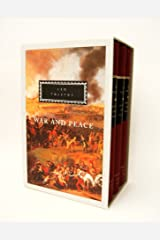 War and Peace (3 Volume Set) Hardcover