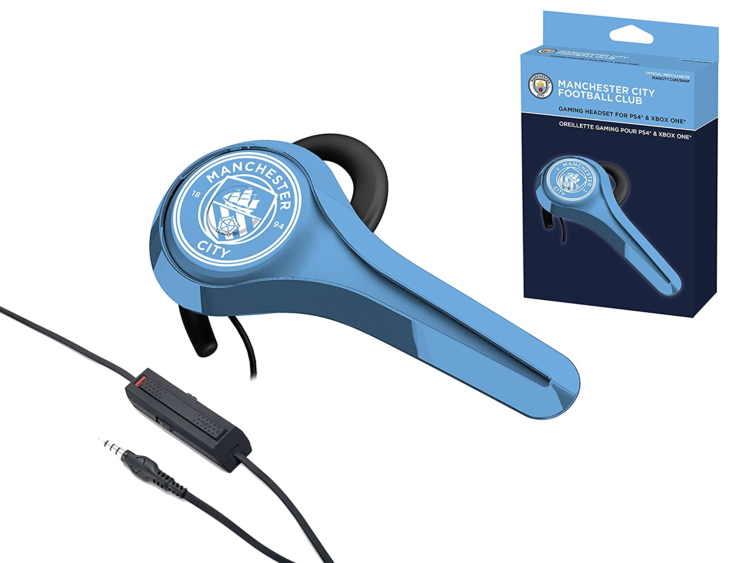 Subsonic - Gaming Headset - Official Licensed MCFC Manchester City ...