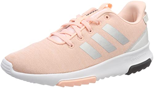 adidas Cloudfoam Racer K DB1868 Kids Shoes Size: 4 US Pink