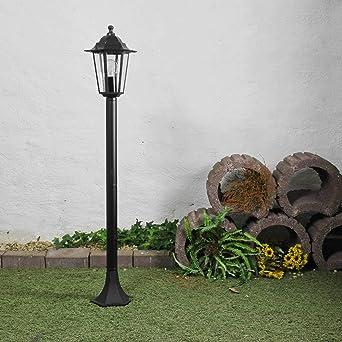 Lámpara para exterior E27 – máx. 60 W Jardín/Terraza Moderna: Amazon.es: Iluminación