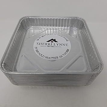 "Sherri Lynne casa 8 ""x 8"" de horno – desechables de papel de"