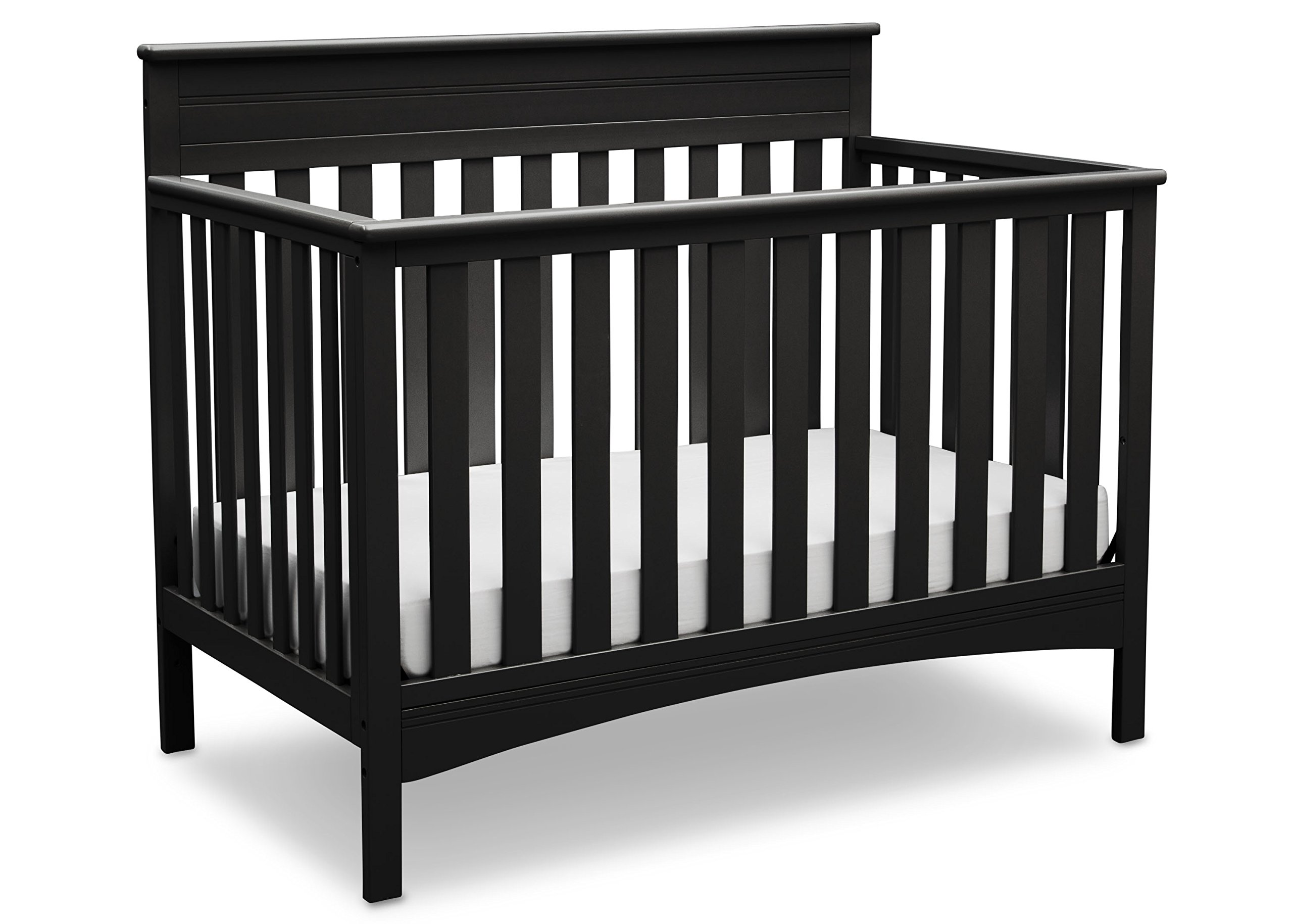 Delta Children Fabio 4-in-1 Convertible Crib, Black