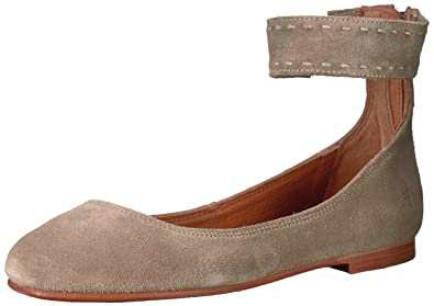 1d18feea1c5 Image Unavailable. Image not available for. Color  FRYE Women s Carson  Ankle Ballet Flat