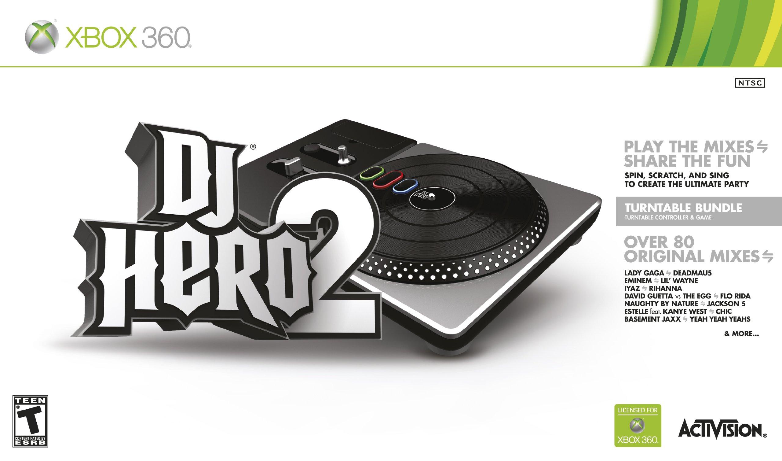 DJ Hero 2 Turntable Bundle -Xbox 360 by Activision (Image #1)